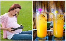 Những công dụng của chanh dây đối với phụ nữ mang thai
