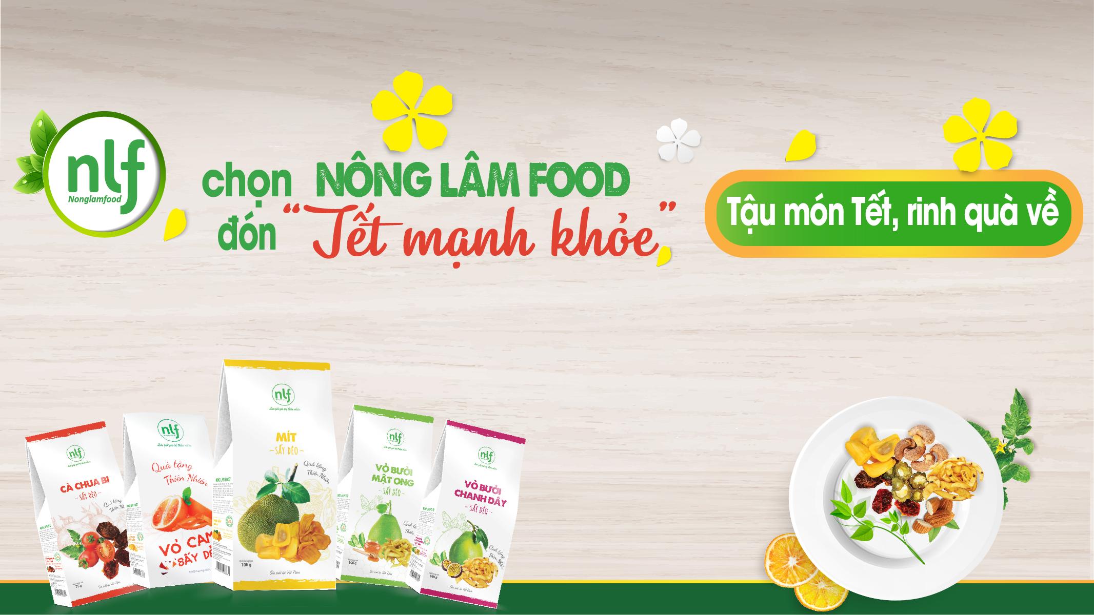 chọn NÔNG LÂM FOOD đón Tết mạnh khỏe HTV9 Tự Hào Hàng Việt