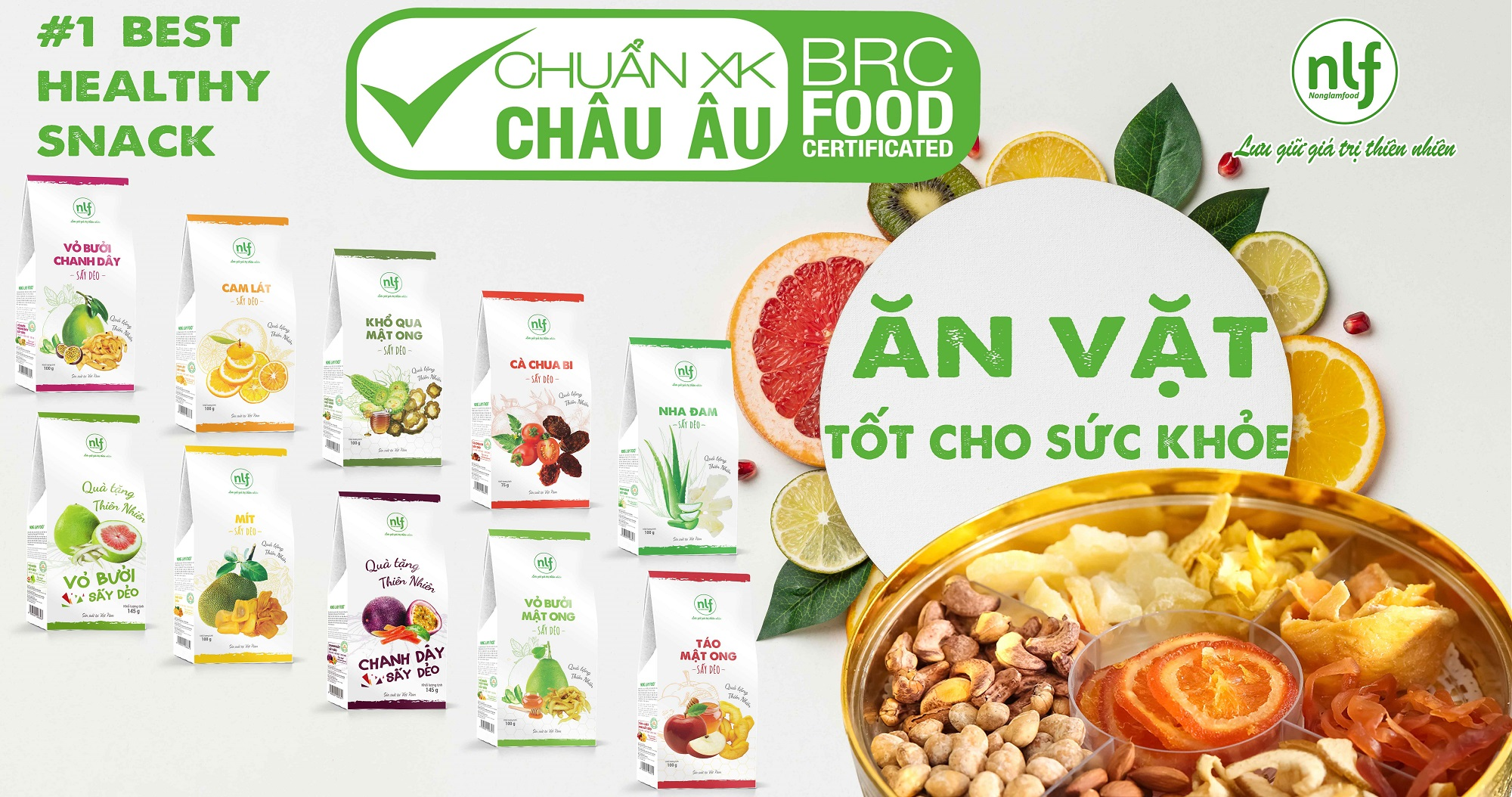 Healthy Snacks | Dried Fruit & Nuts | Vietnam Dried Fruits